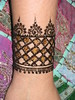 Henna Cuff Volcano Henna Designed by