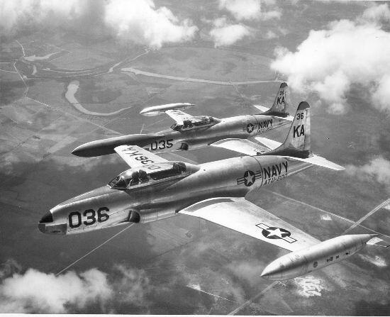 Lockheed : TV-2 (TO-2, T-33B) : Shooting Star