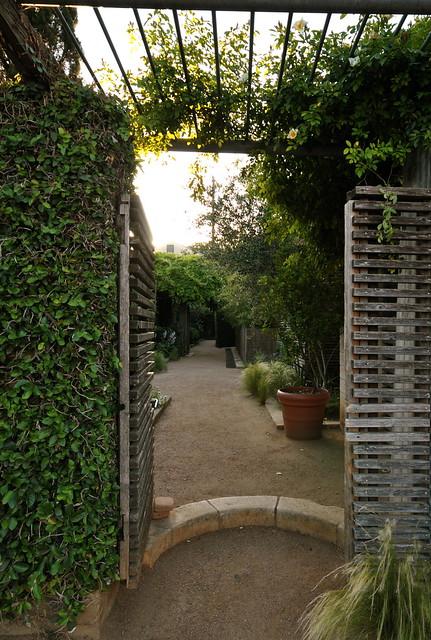 Entrance to san jose hotel corridor flickr photo sharing - Corridor entrance ...