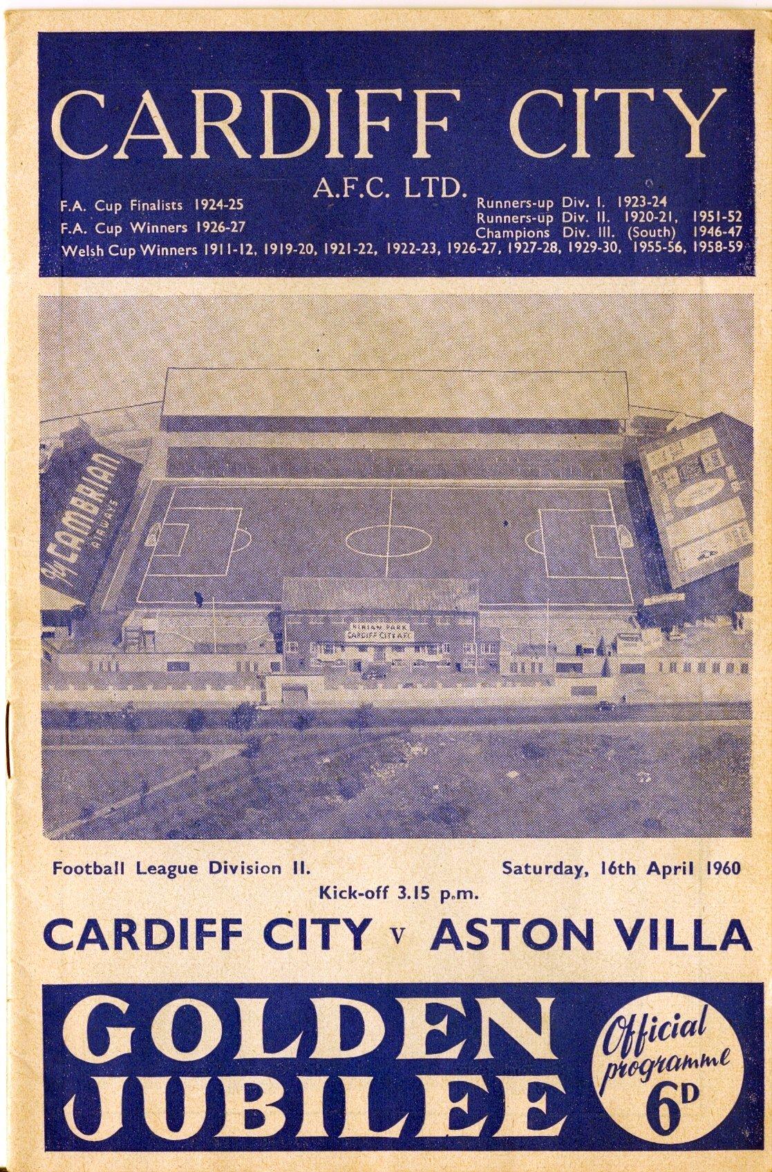 Cardiff V Aston Villa Hh