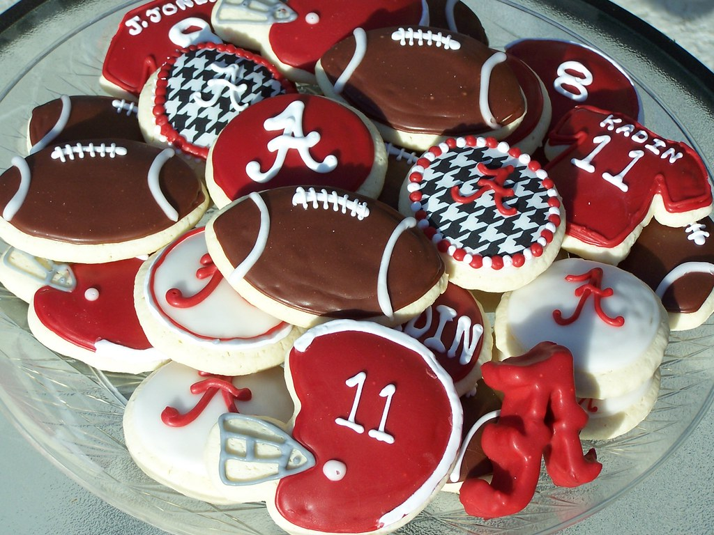 Alabama Football cookies