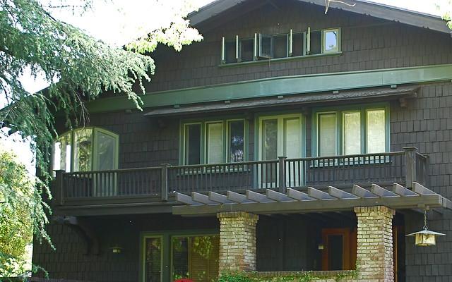 Craftsman in pasadena a gallery on flickr for Pasadena craftsman homes