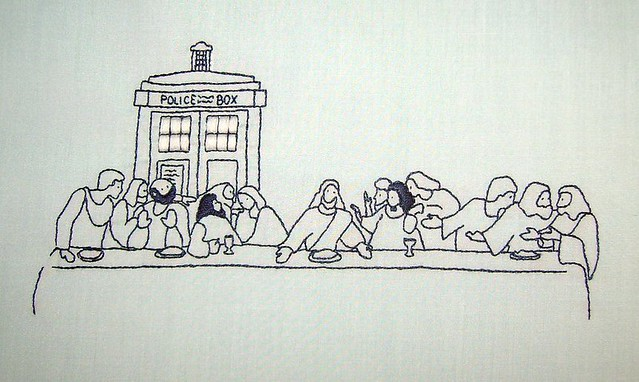 Tardis at the Last Supper