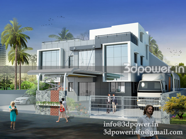 3d building office_www.3dpower.in