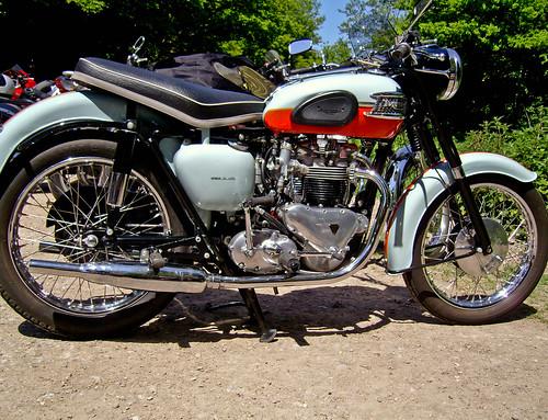 1959 Triumph Bonneville.