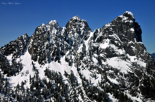 North Face of Mt Baring