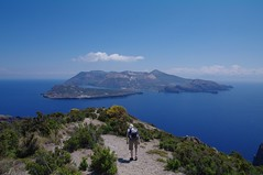 Vulcano depuis la pointe sud de Lipari
