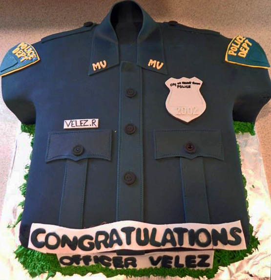 Retirement Cake Decorating Ideas For Police Officers ...