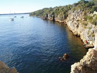 Blackwall Reach Cliffs