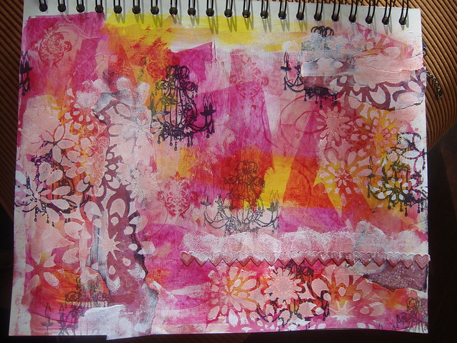 Scrappy Art Journal tutorial