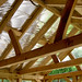 Oak framed sunroom built under current building regulations.