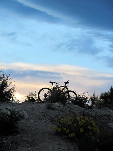 sunset mountainbike priceutah specializedhardrock carboncountyutah lukestrail coverimtrail meadsrim