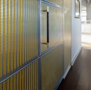 New Offices, Perforated Wall Cladding