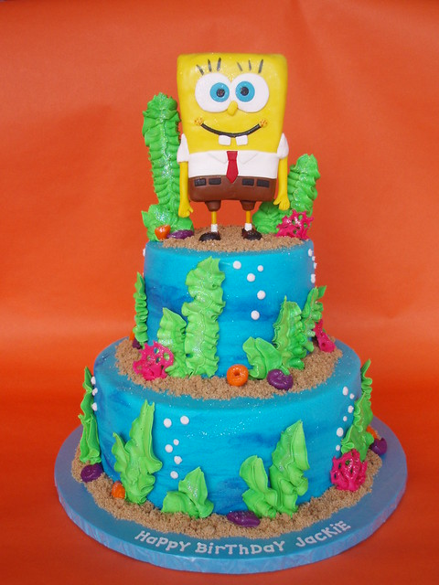 Spongebob Squarepants Childrens Birthday Cake