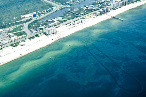 Oil Hitting The Beach of Gulf Shores, Alabama