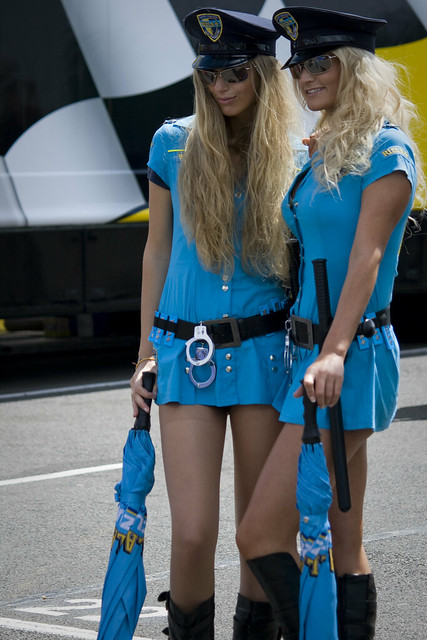 Brolly Dollies - Rizla Suzuki | Flickr - Photo Sharing!