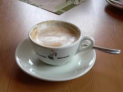 caffeine(0.0), espresso(1.0), cappuccino(1.0), flat white(1.0), cup(1.0), salep(1.0), cortado(1.0), coffee milk(1.0), caf㩠au lait(1.0), coffee(1.0), ristretto(1.0), coffee cup(1.0), caff㨠macchiato(1.0), caff㨠americano(1.0), drink(1.0), latte(1.0),
