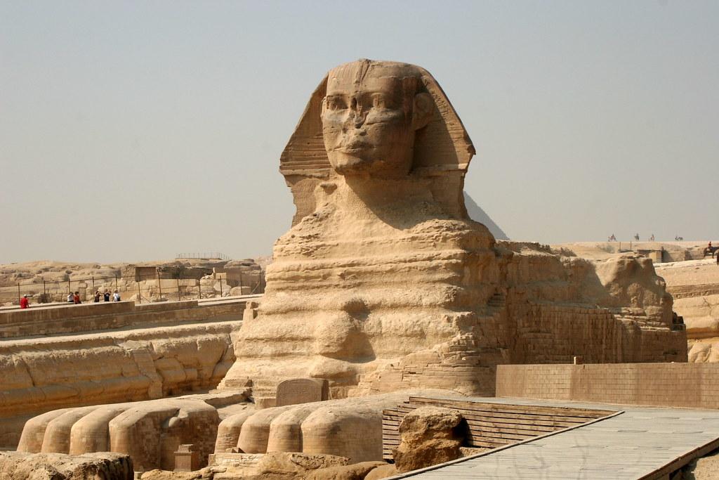 Egito. Guiza - Esfinge
