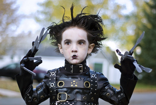 mini edward, halloween 2010