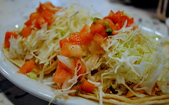 meal, lunch, salad, green papaya salad, food, dish, cuisine,