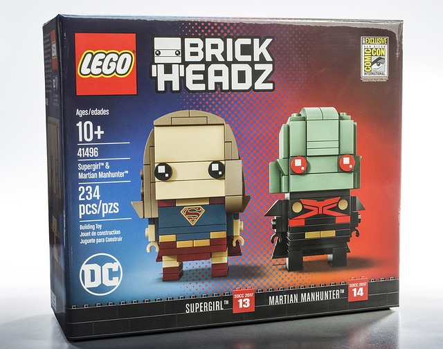 41496 Supergirl & Martian Manhunter BrickHeadz