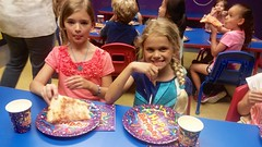At Maddie's Birthday Party