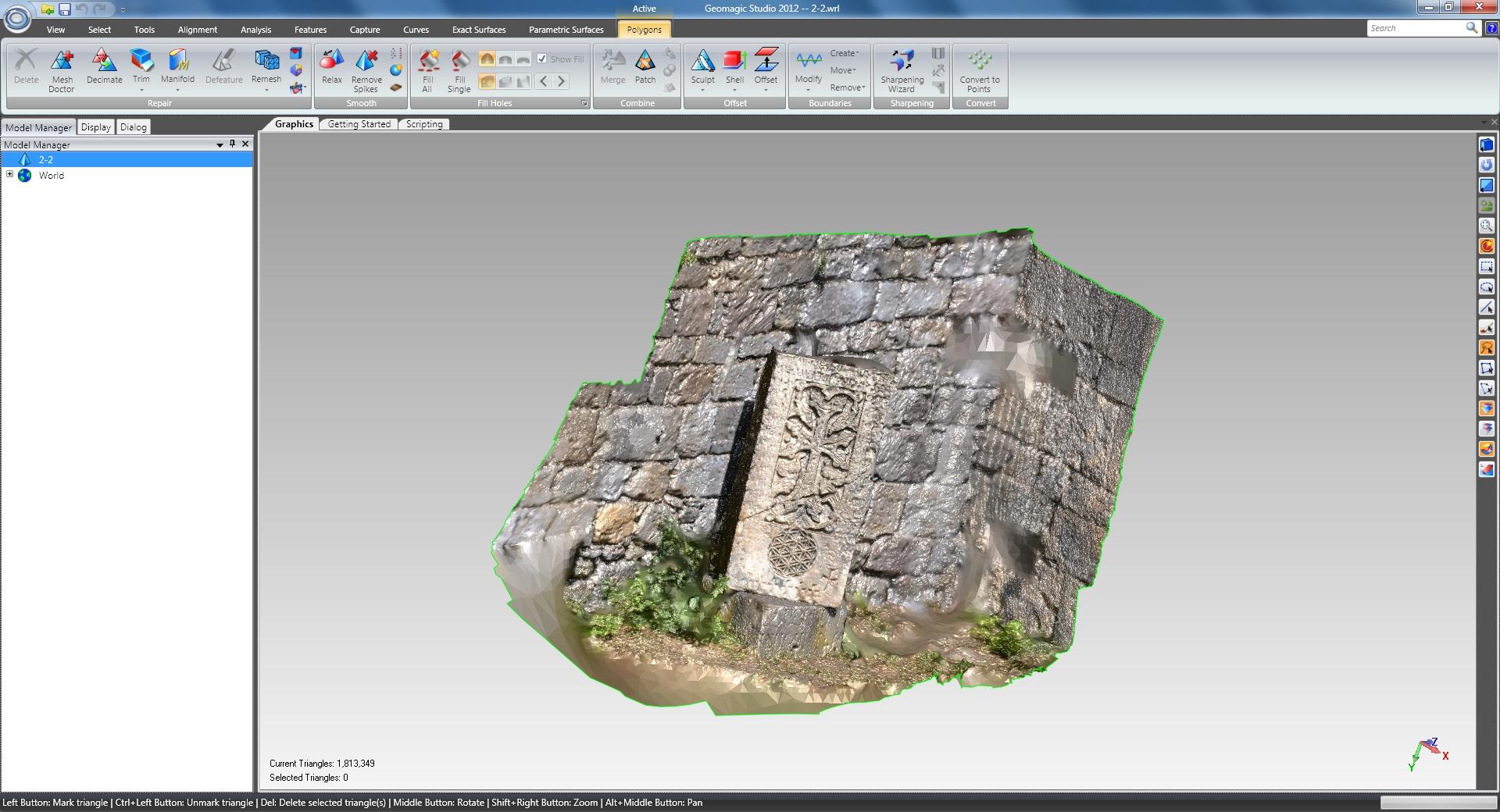 Working with Geomagic Studio 2012 64 bit