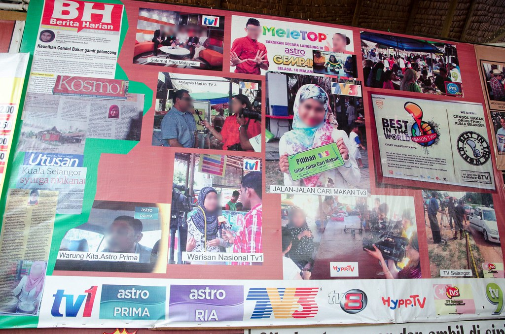 Cendol Bakar Kuala Selangor is featured on many news.