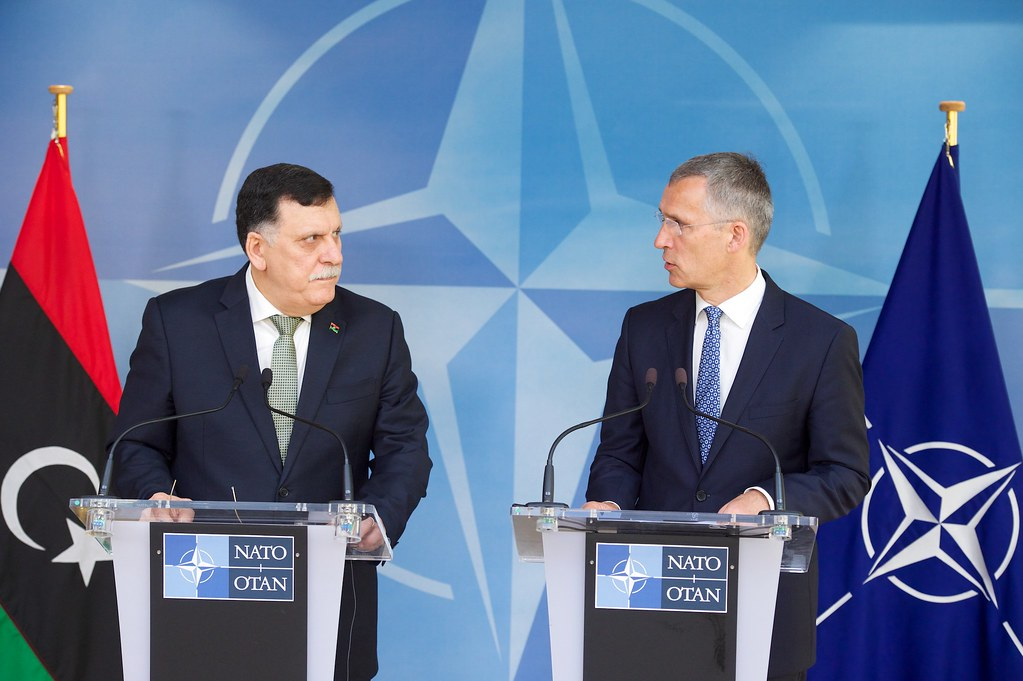 Prime Minister of Libya visits NATO