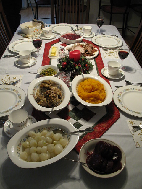christmas dinner table gift ideas