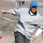 Mike Randolph at the 2005 Ice Bowl, West Arvada Course.
