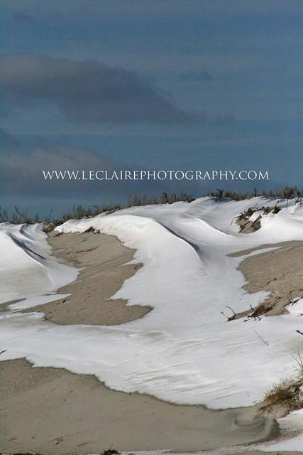 Snow Dune/ Cape Cod - Christopher D. LeClaire Photo, 2010