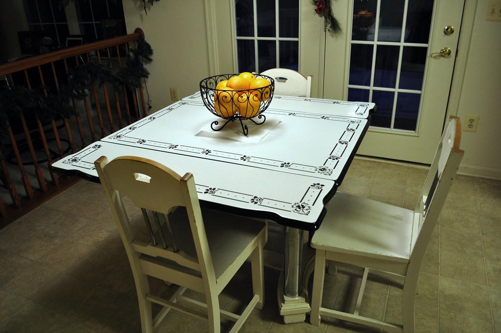 Grandma's Dining Table & Chairs II