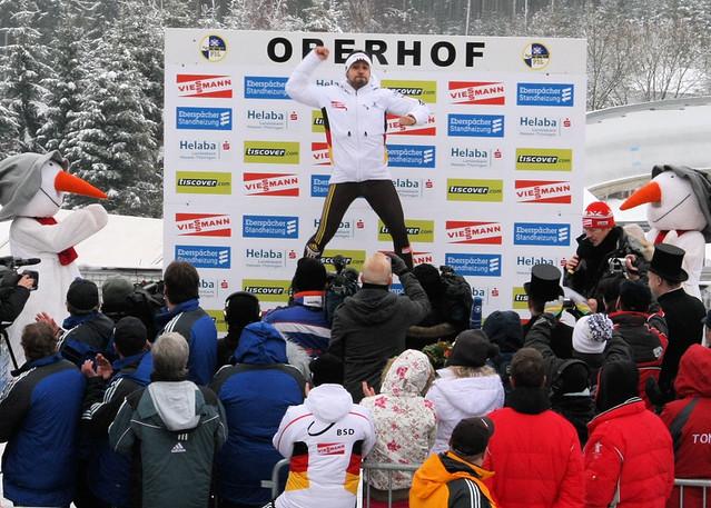 Rennrodelweltcup in Oberhof