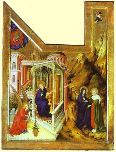 international gothic style painting