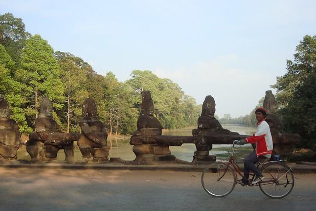 biking by the south gate