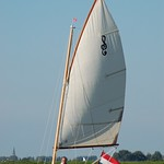 The Zijlsloep Classic sailing.