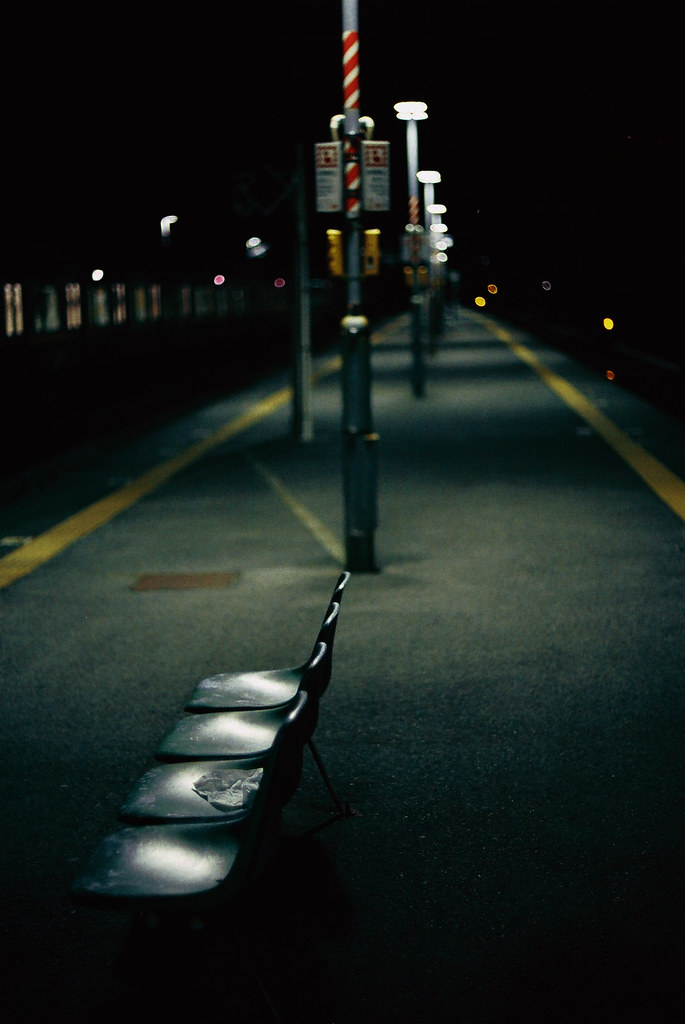 Deserted Platform by Luno_Luno