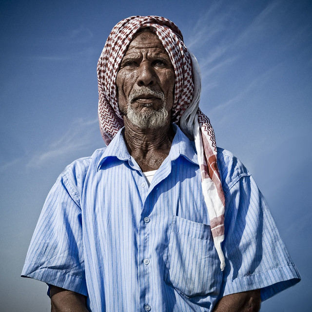 Old man wisdom - Saudi Arabia
