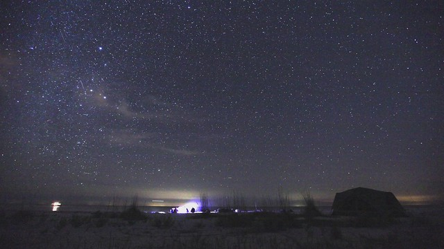 Time Lapse of Everglades Camping