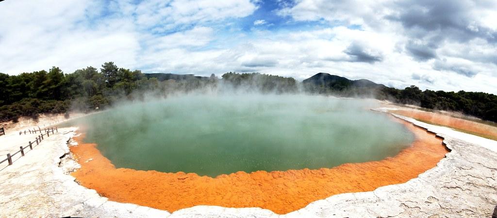 Champagne Pool-Nueva Zelanda