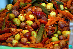 seafood boil(0.0), produce(0.0), vegetable(1.0), kung pao chicken(1.0), food(1.0), dish(1.0), cuisine(1.0),
