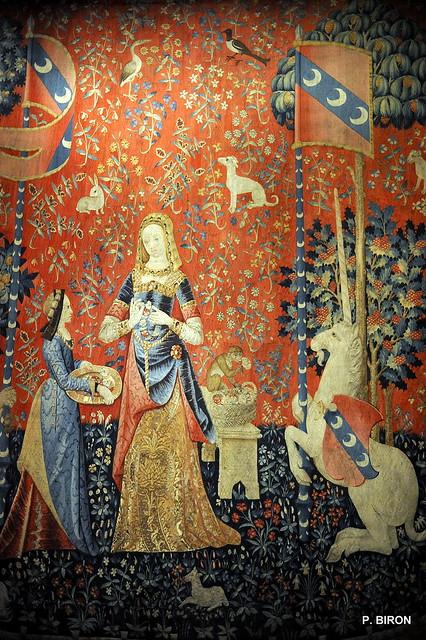 tapisserie de la dame la licorne mus e du moyen age flickr photo sharing. Black Bedroom Furniture Sets. Home Design Ideas