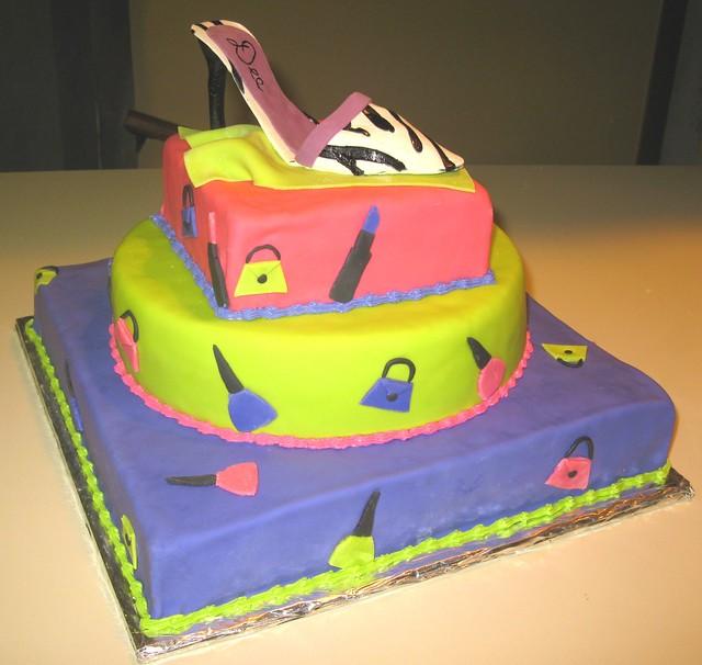high heel shoe cake flickr photo