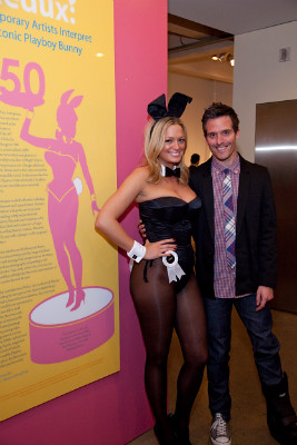 Opening Pajama Party for Playboy Redux: Contemporary Artists Interpret the Iconic Playboy Bunny