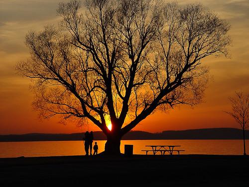 sunset michigan sunsets boynecity lakecharlevoix rickrjw