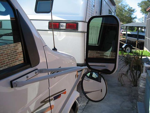 Rv Side Mirrors : Rv open roads forum class c motorhomes after market