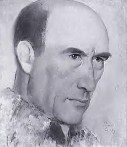 André Gide, de Simon Bussy, dessin, 1925