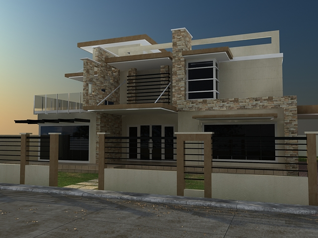 Basic Exterior Lighting Tutorial With Vray Free 3d Rendering And Architectural Visualization