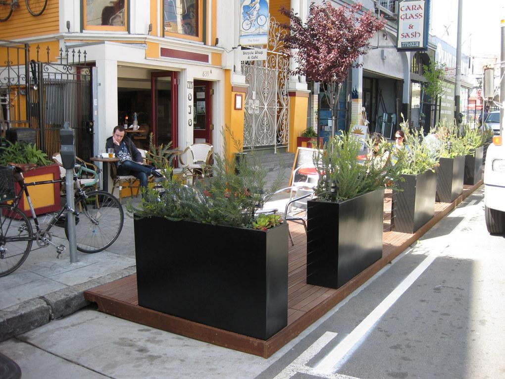 Divisadero Parklet - SF Pavement to Parks